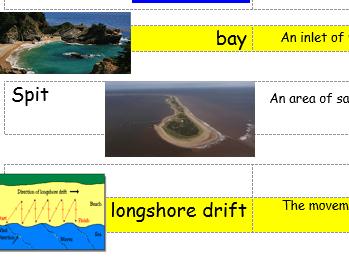 Coasts Key Word Mat