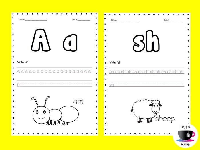 phonics worksheets 2 jolly phonics by teachinginateacup teaching resources. Black Bedroom Furniture Sets. Home Design Ideas