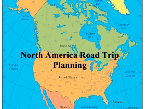 North America Road Trip Planning KS2