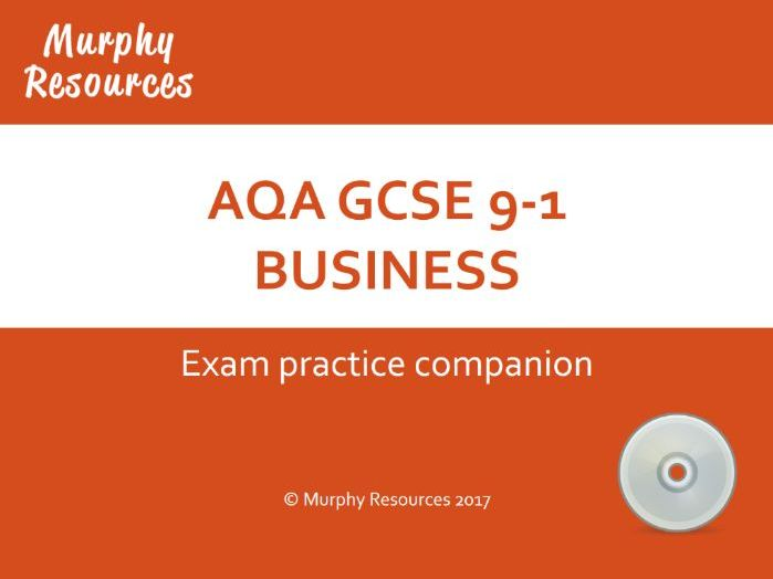 GCSE 9-1 Mock Exam Papers & Practice (AQA) Sample