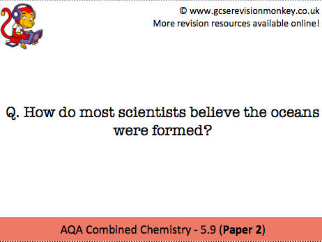 Revision Cards - AQA Combined Chemistry 5.9