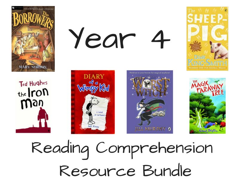 Year 4 Reading Comprehension Bundle
