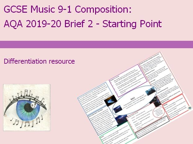 AQA Music GCSE 9-1 Composition: 2019-2020 Brief 2 Starting Point