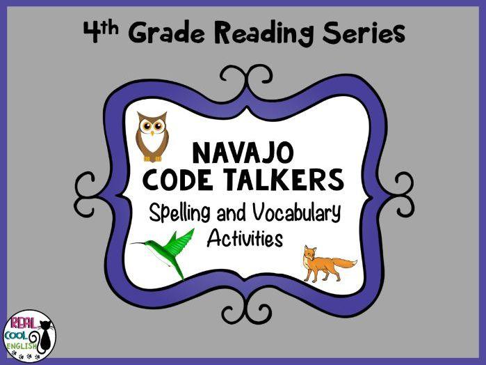 Spelling and Vocab Activities: Navajo Code Talkers