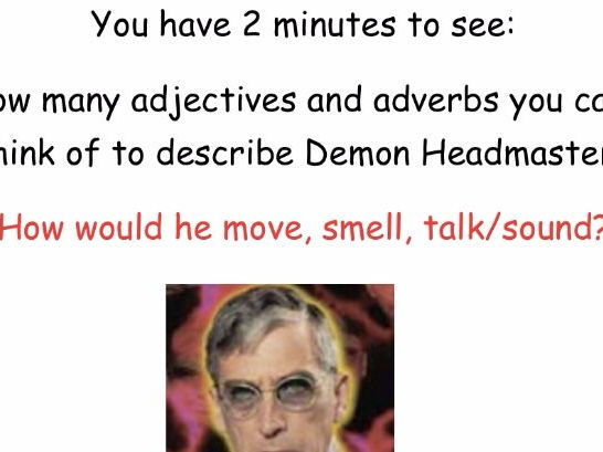 The Demon Headmaster Character Description