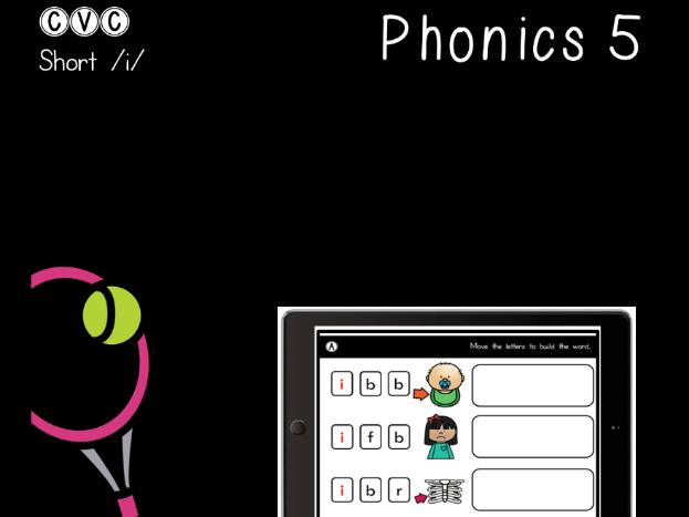 CVC Short I - Digital Center - Pocket Chart - Phonics (Google Classroom)