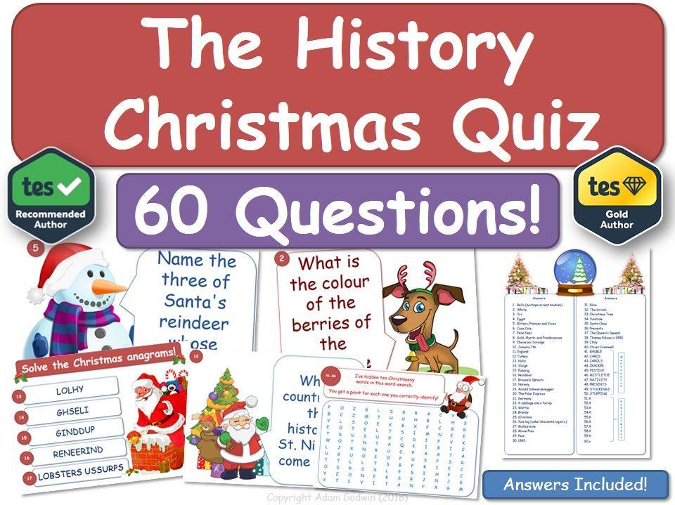 History Christmas Quiz!
