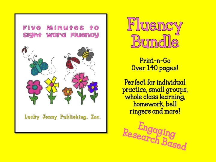 Five Minutes to Sight Word Fluency