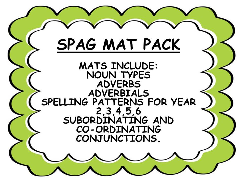 SPAG MAT BUNDLE