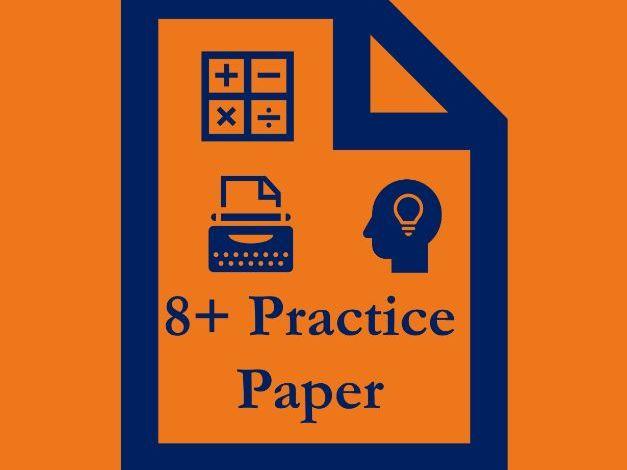 8+ Practice Paper
