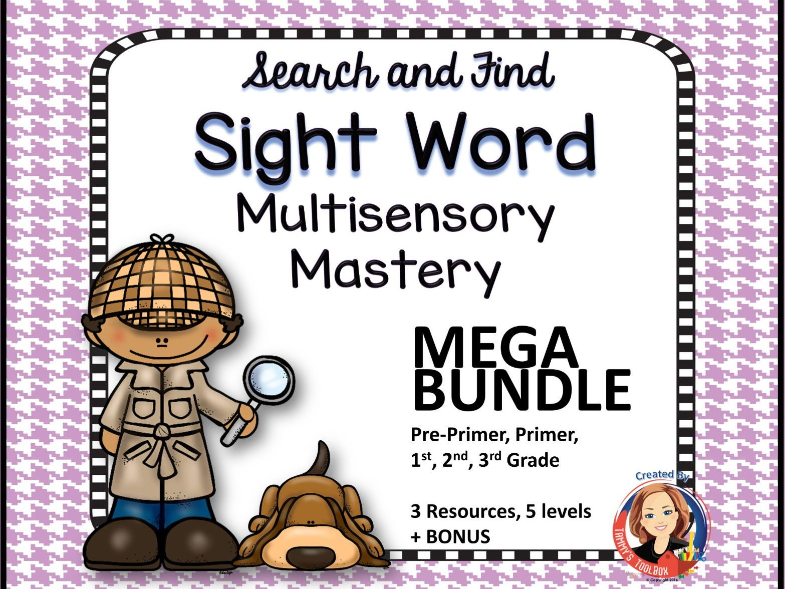 Sight Word Multi-Sensory Mastery Bundle
