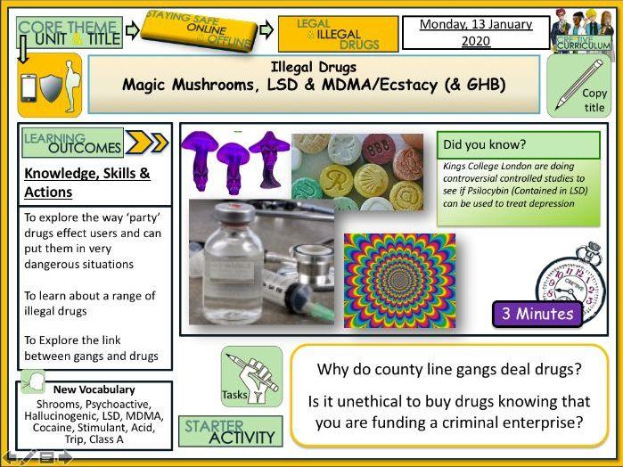 Drugs - Illegal drugs explored