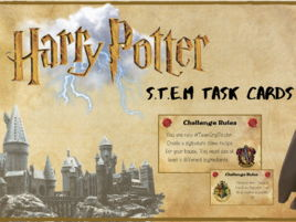 Harry Potter S.T.E.M Task Cards - Distance Learning