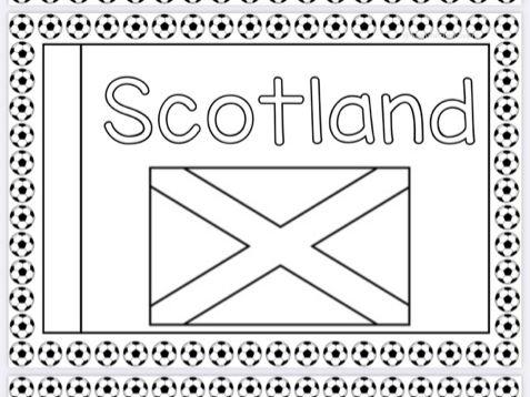 Scotland Flags Euro 2021
