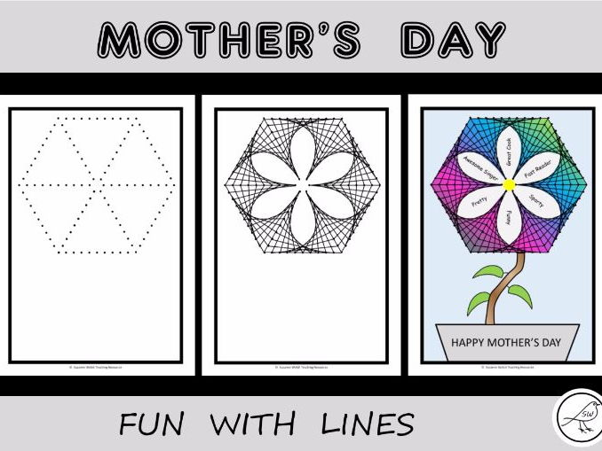Mother's Day Flower Art Activity