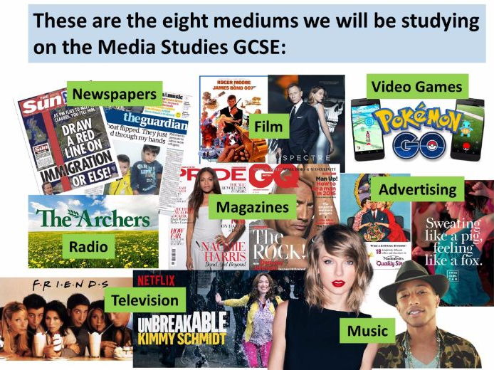 9-1 GCSE Media Studies Key Concepts lesson 1: the Media Triangle