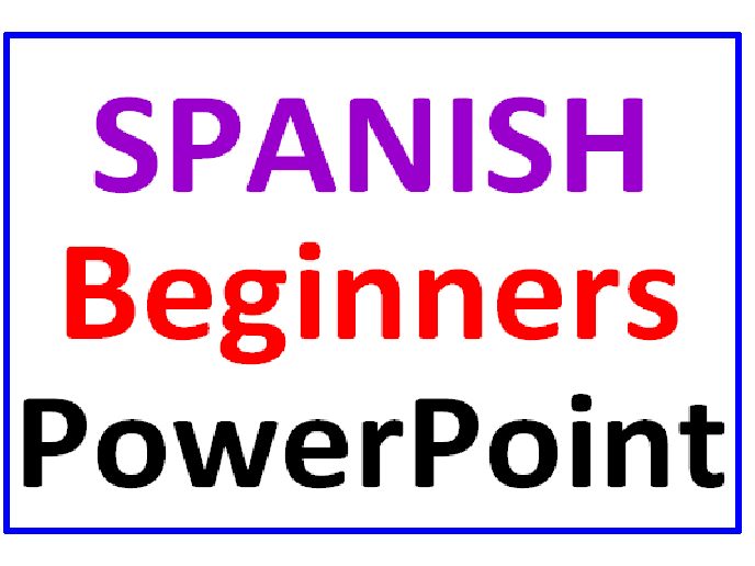 Spanish for Beginners PowerPoint Lesson