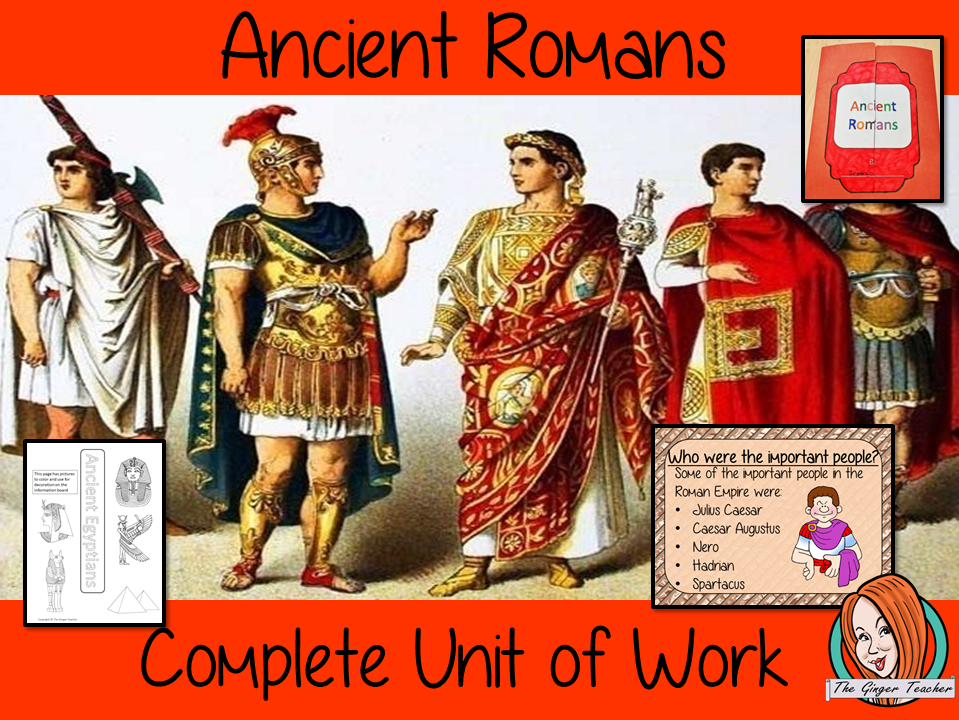 Ancient Roman Complete Unit Lesson Bundle
