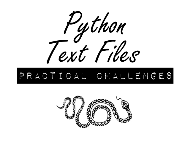 Python Text Files