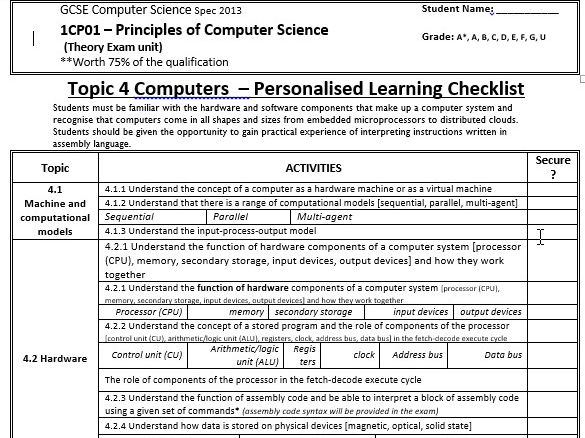 All Worksheets Computer Science Worksheets For High School – Syntax Worksheets