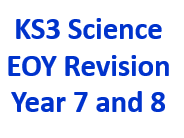 KS3 Science End Of Year Revision Year 7 and 8