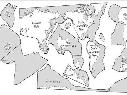 Plate Tectonics Jigsaw