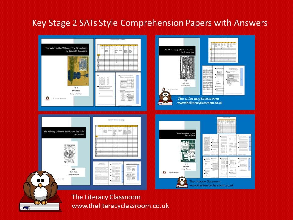 Key Stage 2 SATs-Style Comprehension Bundle (with answers)