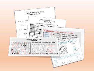 Sudoku for Fun - MEDIUM