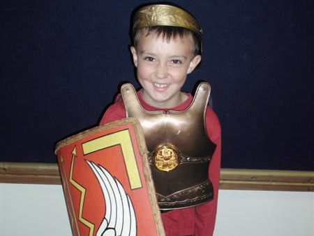 Roman themed writing tasks