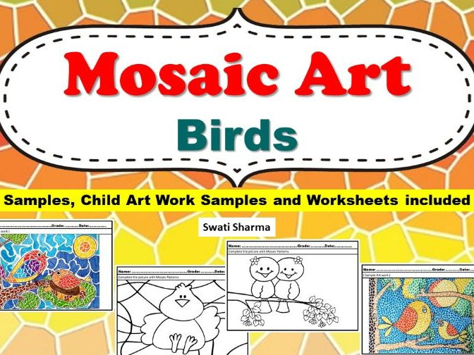 Art Project Mosaic Art Birds