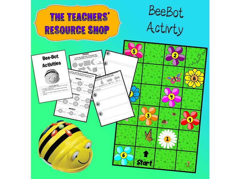 BeeBot Activity and Mat