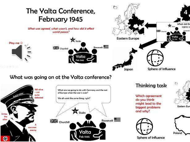 History GCSE: The Yalta Conference Feb 1945