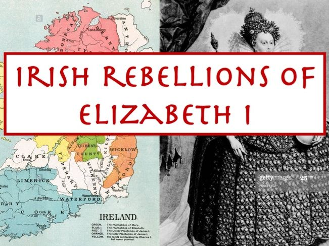 Irish Rebellions under Elizabeth I