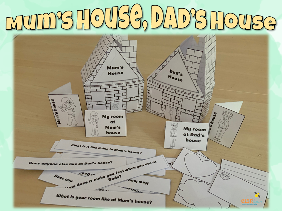 Mum's house, Dad's house -resource for supporting divorce/separation