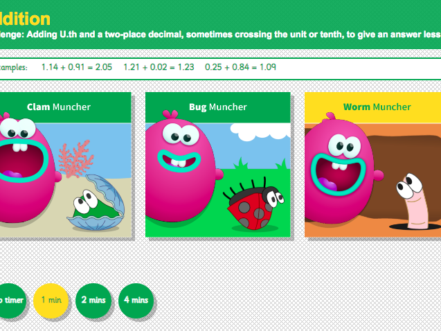 Addition over 100 - Adding Three-Digit Numbers Interactive Game - KS2 Number