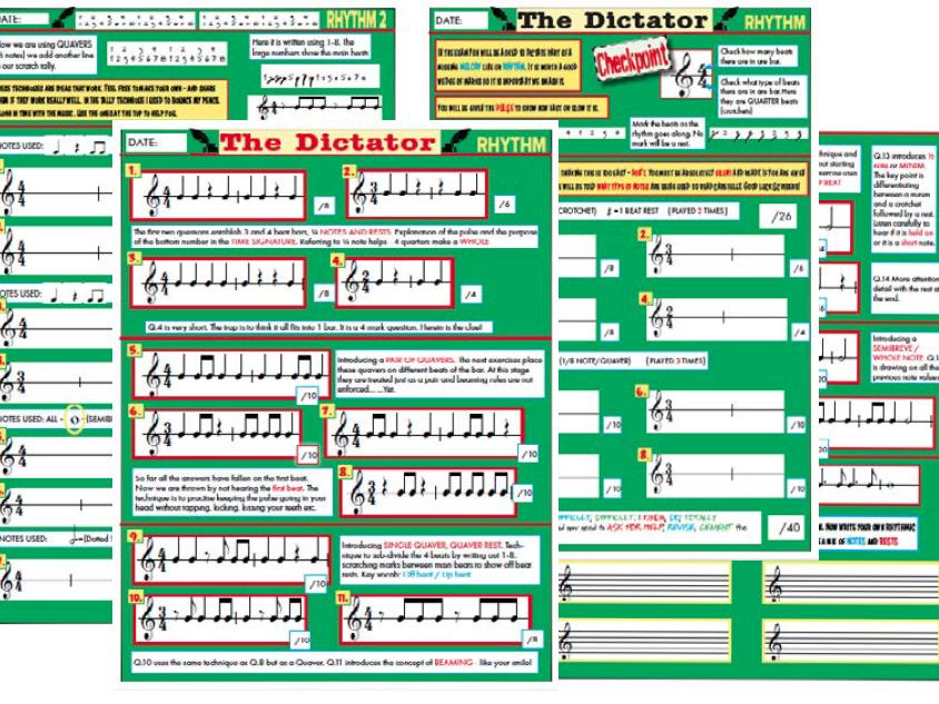 Music Dictation GCSE