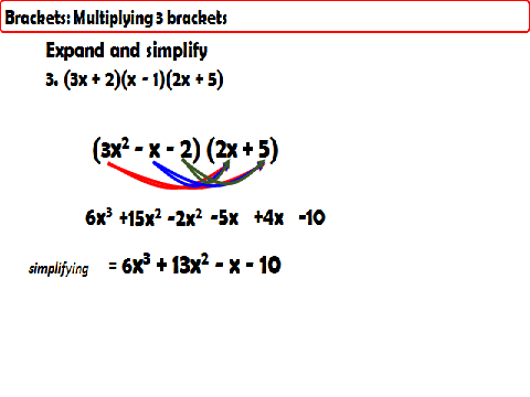 Expanding Brackets - FOIL method
