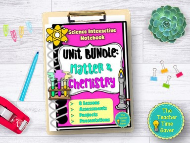 Matter and Chemistry Notebook Bundle