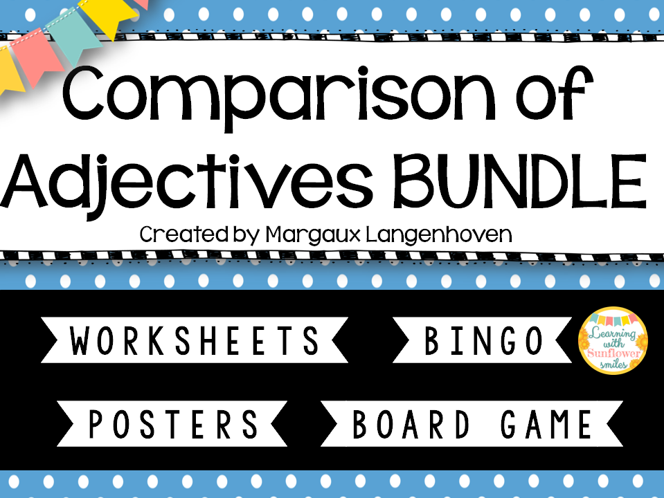 Degrees of Comparison Activity Bundle