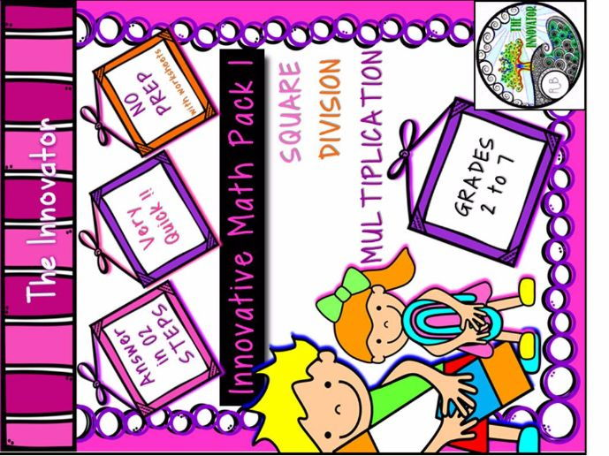 Innovative Mathematics Pack  – Multiplication, Division and Square