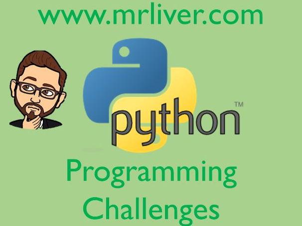 GCSE Programming Challenges