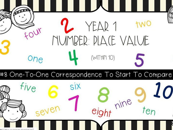 Year 1 - Place Value - One-To-One-Correspondence-To-Start-To-Compare-Groups
