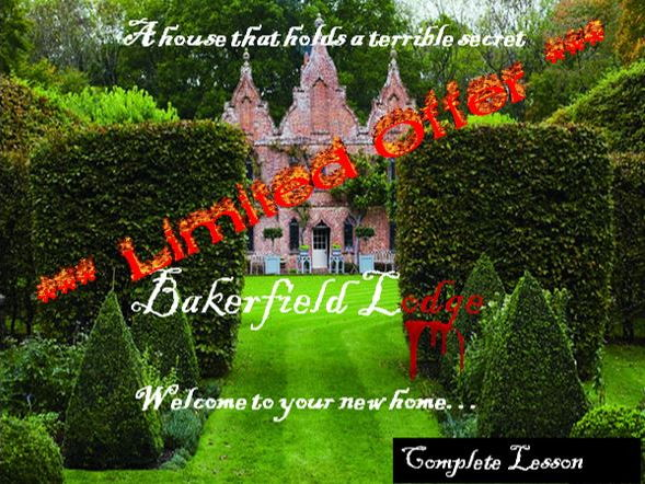 *** Limited Price Offer - Bakerfield Lodge – The House that Holds a Terrible Secret***