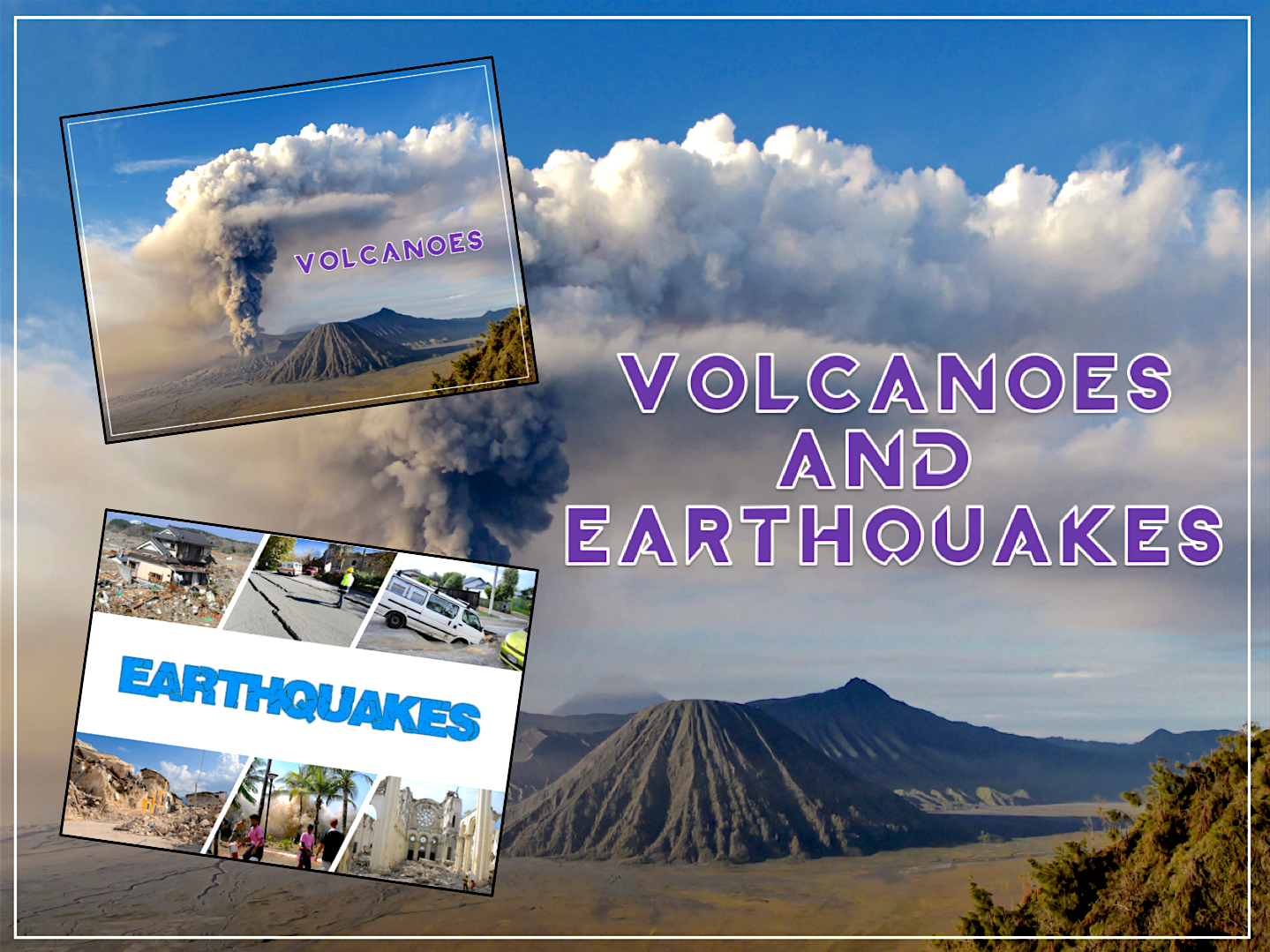 Volcanoes & Earthquakes - KS2