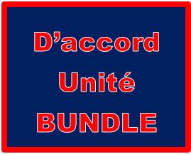 D'accord 1 Unité 4 Bundle