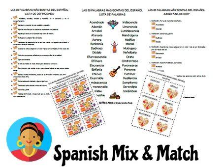 VOCABULARIO ESPAÑOL AVANZADO: Actividades con las 35 palabras más bonitas o extrañas del español