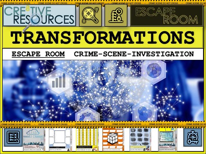 Maths Escape Room  - Transformations