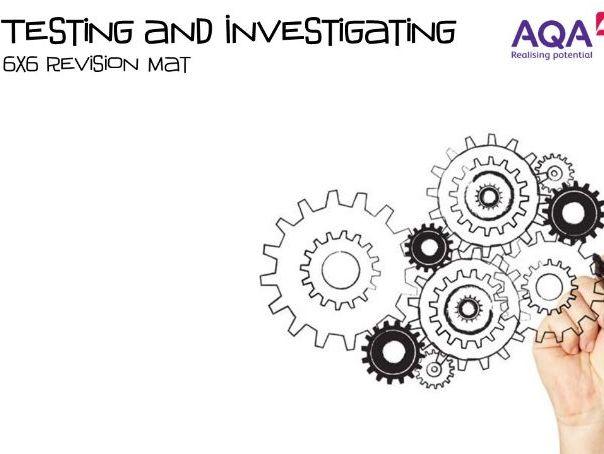 AQA 9-1 Engineering (New Spec) - Testing