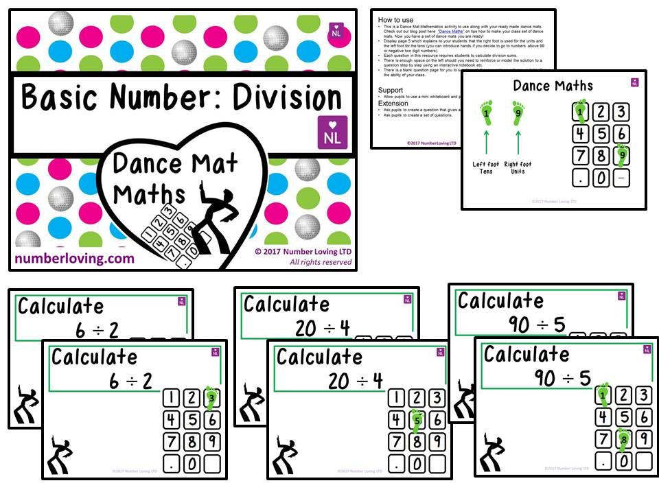 Basic Division (Dance Mat)