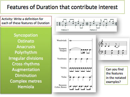Use this complete lesson with fun activities to review the music concept: Duration